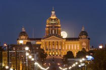 Facade of a government building, Iowa State Capitol, Des Moines, Iowa, USA by Panoramic Images