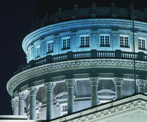 Low angle view of the dome of a government building by Panoramic Images