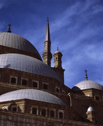 Low angle view of a mosque, Cairo, Egypt by Panoramic Images