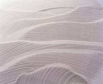Wavy pattern in sand von Panoramic Images