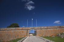 Entrance of a fortress by Panoramic Images