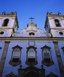 Low angle view of a church, Largo do Pelourinho, Pelourinho, Salvador, Brazil von Panoramic Images