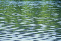 Rippled pattern on water surface von Panoramic Images