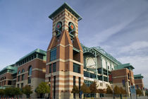 Low angle view of a building, Minute Maid Field, Houston, Texas, USA by Panoramic Images