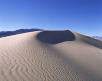 Rippled pattern on sand, Death Valley, California, USA von Panoramic Images