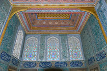 Interiors of a palace, Topkapi Palace, Istanbul, Turkey by Panoramic Images