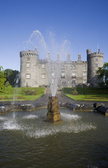 Kilkenny Castle - rebuilt in the 19th Century by Panoramic Images