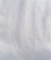 Textured white fabric background von Panoramic Images