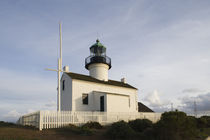 Low angle view of a lighthouse by Panoramic Images