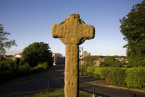High Cross at, Downpatrick Cathedral, Downpatrick, County Down, Ireland von Panoramic Images