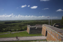 Tourists at a fortress by Panoramic Images