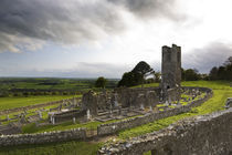 Remains of the Church on St Patrick's Hill, Slane, Co Meath, Ireland von Panoramic Images