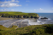 Stradbally Strand, The Copper Coast, County Waterford, Ireland von Panoramic Images