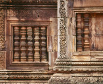 Carving details on the walls, Angkor Wat, Cambodia von Panoramic Images