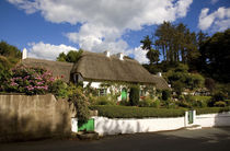 Thatched Cottage, Stradbally, Copper Coast, County Waterford, Ireland by Panoramic Images