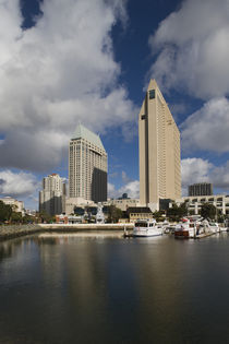 Buildings at the waterfront, San Diego, California, USA by Panoramic Images