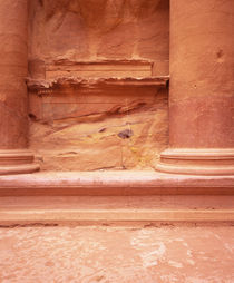 Columns of a building, Petra, Jordan von Panoramic Images