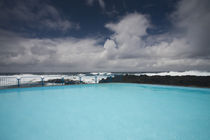 Saltwater swimming pool at the coast by Panoramic Images