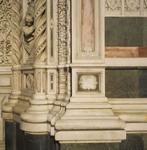 Detail of a cathedral, Duomo Santa Maria Del Fiore, Florence, Italy by Panoramic Images