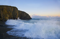 Stormy Seas at Ballyvooney Cove, The Copper Coast, County Waterford, Ireland von Panoramic Images