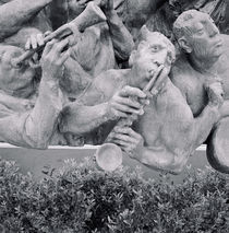 Close-up of sculptures by Panoramic Images