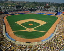 Dodger Stadium von Panoramic Images