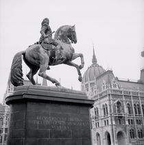 Statue of Francis II Rakoczi ( 1676-1735) by Janos Pasztor by Panoramic Images