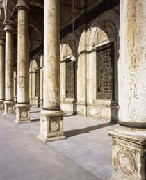 Colonnade of a mosque, Egypt von Panoramic Images