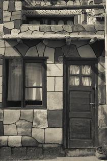 Facade of a stone house, Tilcara, Quebrada De Humahuaca, Argentina by Panoramic Images