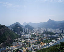 Aerial view of a cityscape, Sugarloaf Mountain, Rio De Janeiro, Brazil by Panoramic Images