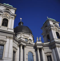 Low angle view of a church, Dreifaltigkeitskirche II, Salzburg, Austria von Panoramic Images