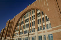 Low angle view of a stadium, American Airlines Center, Dallas, Texas, USA von Panoramic Images