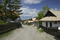 Houses in a village, Holloko, Hungary by Panoramic Images