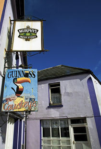 Pub Signs, Eyeries Village, Beara Peninsula, County Cork, Ireland by Panoramic Images