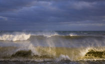 Stormy Seas at Ballydowane Cove, Copper Coast, County Waterford, Ireland by Panoramic Images