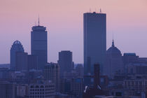 Skyscrapers in a city, Back Bay, Boston, Massachusetts, USA by Panoramic Images