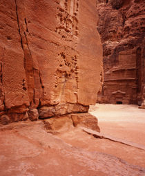 Details of eroded rocks, Petra, Jordan by Panoramic Images