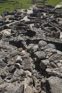 Ruins of an ancient city of 14 century BC. von Panoramic Images