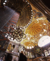 Architectural details of a museum, Aya Sofya, Istanbul, Turkey von Panoramic Images