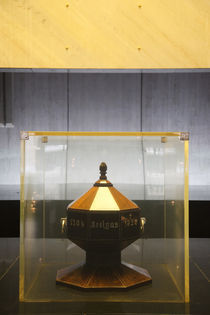 Urn in the of mausoleum of General Artigas by Panoramic Images