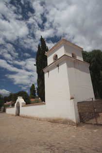 Low angle view of a church, Uquia, Quebrada De Humahuaca, Argentina by Panoramic Images