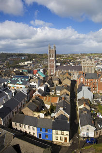 View from St Anne's Church Steeple to St Mary's Pro Cathedral by Panoramic Images