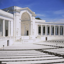 Facade of an amphitheater by Panoramic Images