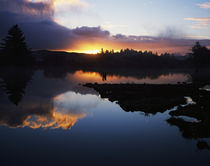 Winter Sunrise by Panoramic Images