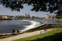 Salmon Leap Weir, Athlone, County Roscommon, Ireland von Panoramic Images