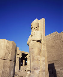 Ruins of a statue, Valley Of The Kings, Luxor, Egypt by Panoramic Images