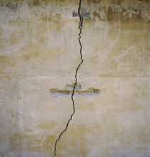 Close-up of a cracked wall, Florence, Italy by Panoramic Images