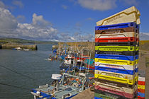 Fishing Boats, Helvick Port, Ring Gaelic Area, County Waterford, Ireland by Panoramic Images