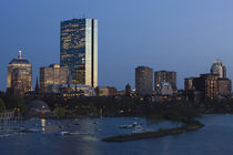 Buildings at the waterfront by Panoramic Images