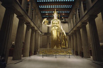 Statue of the Greek Goddess Athena by Panoramic Images